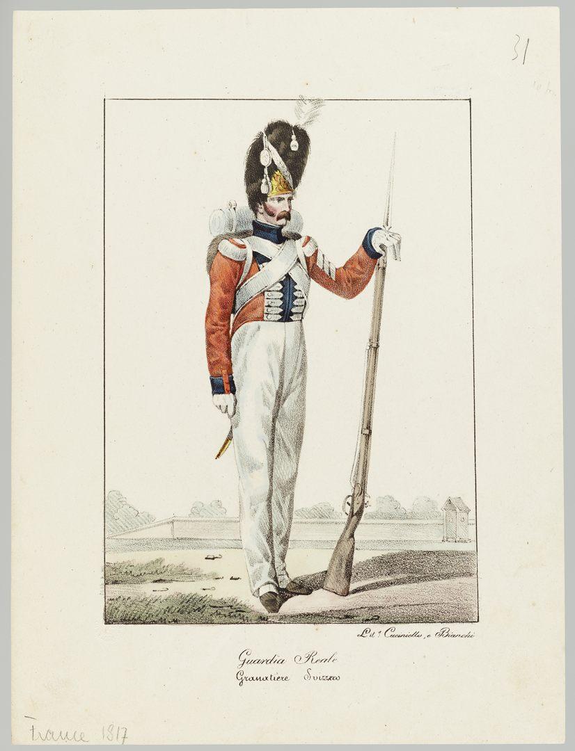 1817 Garde Royale GS-POCHON-283