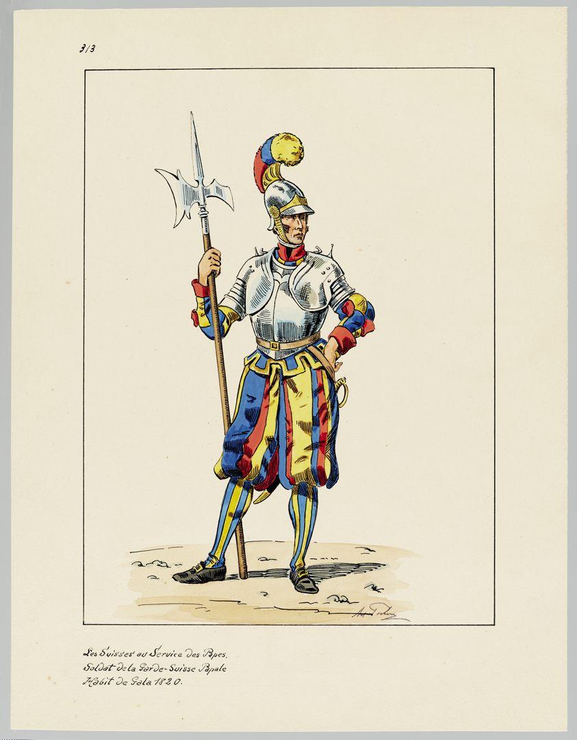 1820 Schweizer Garde GS-POCHON-420