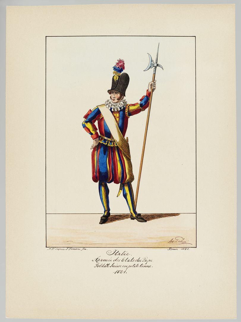 1821 Schweizer Garde GS-POCHON-421