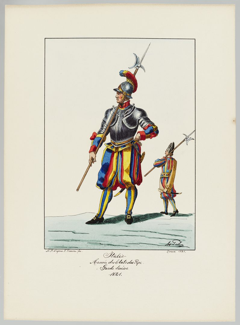 1821 Schweizer Garde GS-POCHON-422