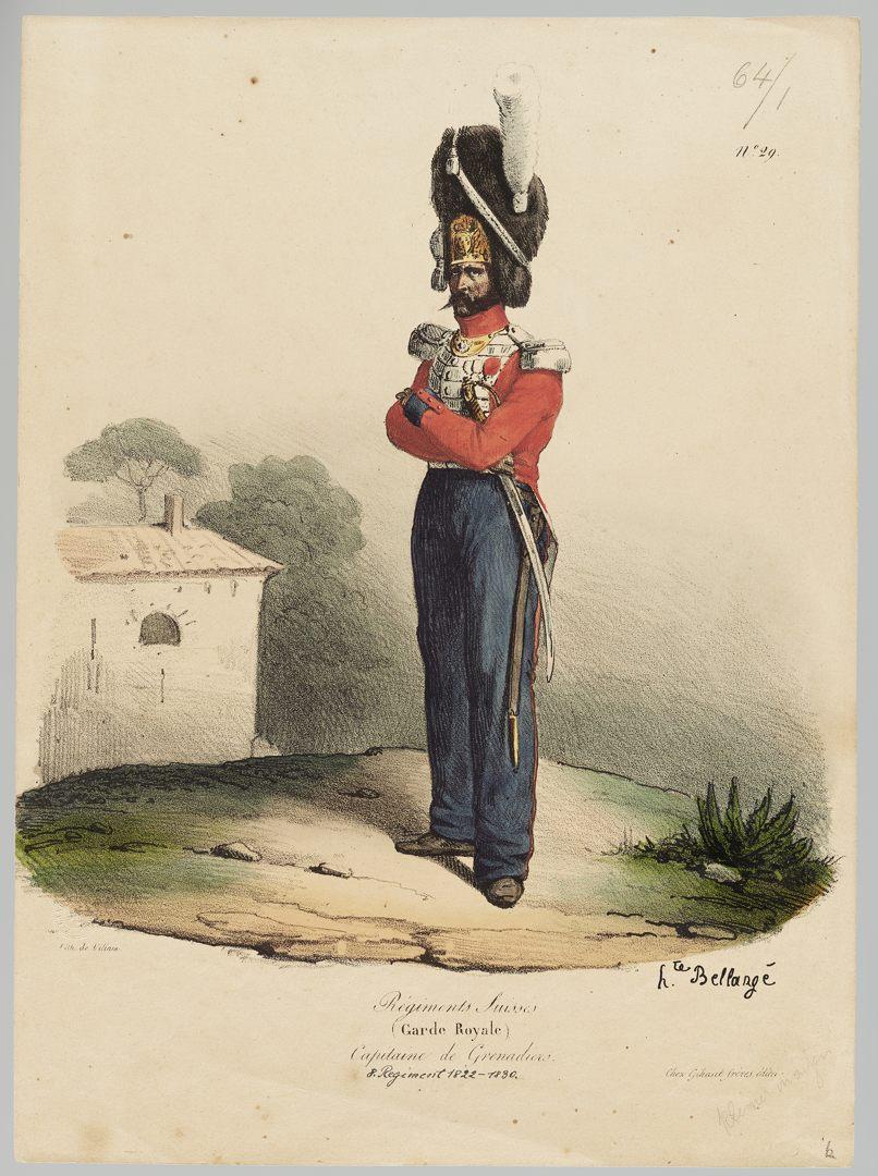 1822 Garde Royale GS-POCHON-275