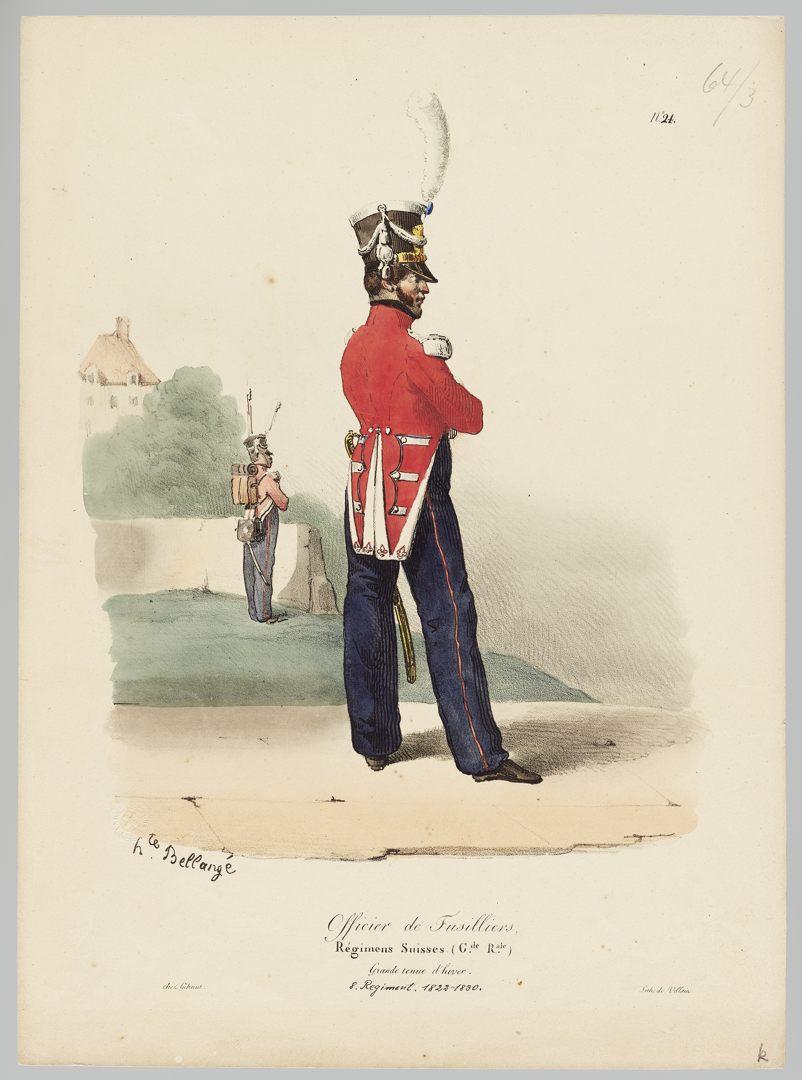 1822 Garde Royale GS-POCHON-277