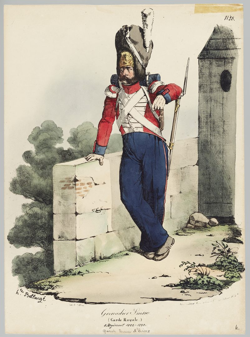 1822 Garde Royale GS-POCHON-282
