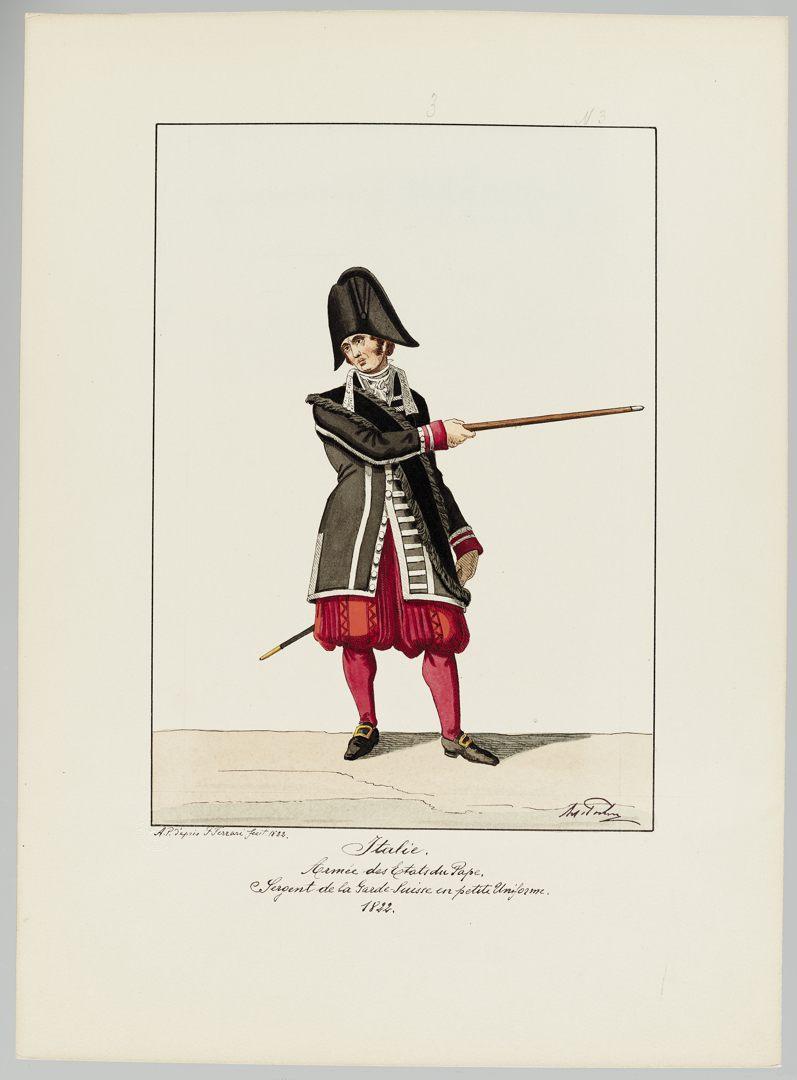 1822 Schweizer Garde GS-POCHON-423