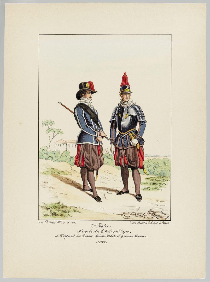 1842 Schweizer Garde GS-POCHON-425