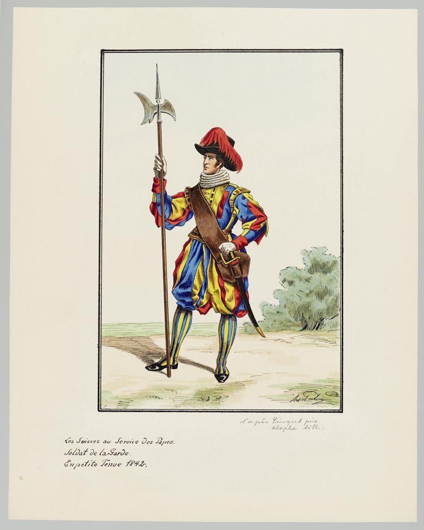 1842 Schweizer Garde GS-POCHON-426