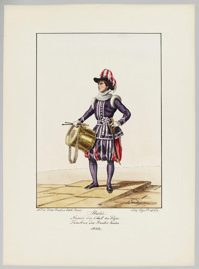 1842 Schweizer Garde GS-POCHON-427