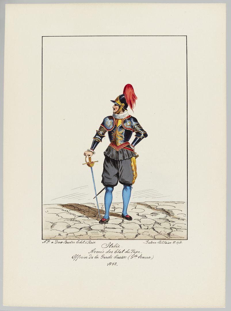 1842 Schweizer Garde GS-POCHON-428
