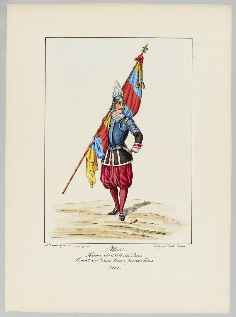 1860 Schweizer Garde GS-POCHON-473